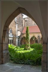 Innenhof Meißner Dom