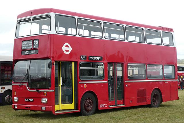 Preserved former London Transport MD60 (KJD 260P) at Showbus - 29 Sep 2019 (P1040706)