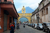Antigua de Guatemala, Santa Catalina Arch and Volcano of Agua