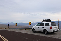 On the way to Mono Lake