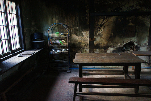 Dining room at Saint Agnes' Convent, Kalaw