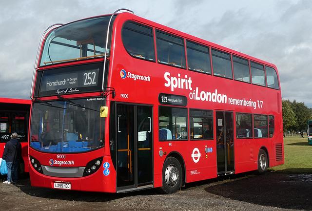 Stagecoach London 19000 (LX55 HGC) at Showbus - 29 Sep 2019 (P1040640)