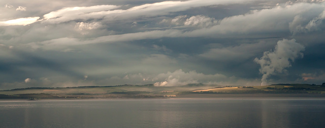 Clouds over Fife