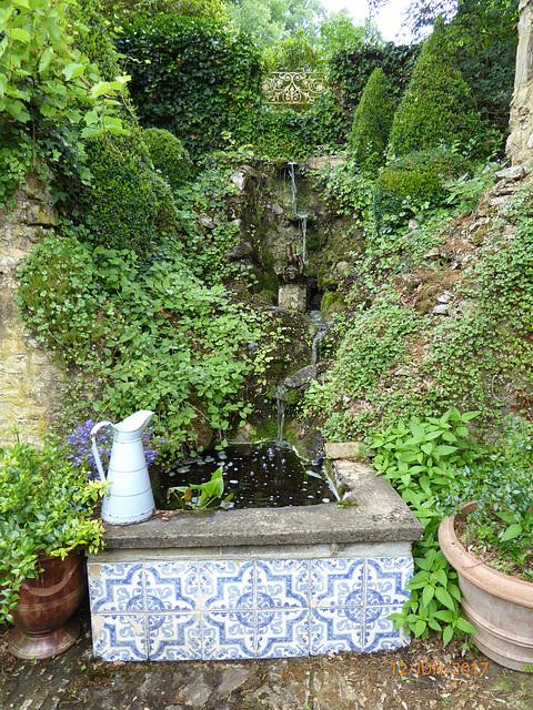 décor du salon de thé aux jardins de CADIOT