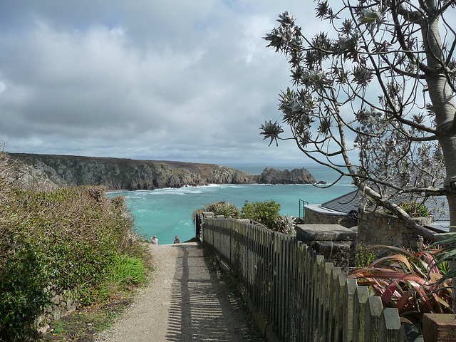 HFF from Minack Theatre Cornwall