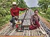 Le train de bambou de Battambang