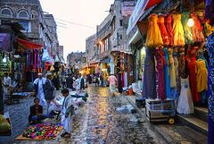 Souk à Old City Market Sanaa, Yemen