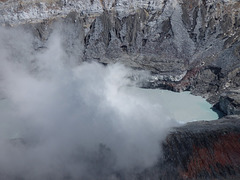 Lago en el volcán Poac, Costa Rica