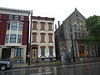Over-the-Rhine in the rain