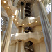 Barcelona - Sagrada Familia interior - Stairs