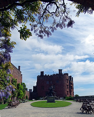 Entrance to Powis Castle