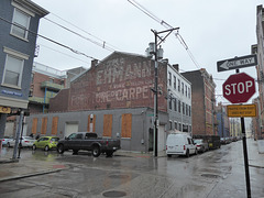 ghost signs, Over-the-Rhine in the rain