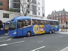 DSCF6358 Freestones (Megabus contractor) YN14 FVR in London - 11 Mar 2017