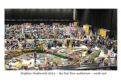 Brighton Modelworld 2016 1st floor auditorium - north end