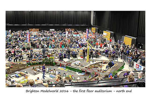 Brighton Modelworld 2016 1st floor auditorium - north end