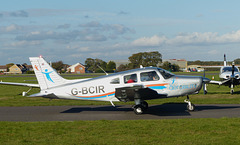 G-BCIR at Solent Airport - 31 October 2018