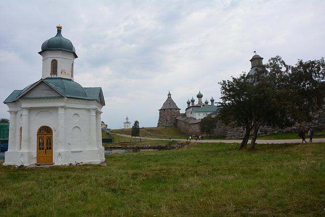Спасо-Преображенский Соловецкий монастырь, Часовня Александра Невского
