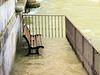 Banc spécial bains de pieds, Special bench baths of feet
