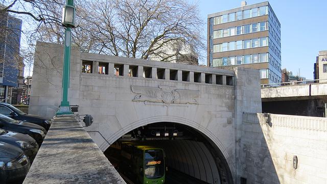 mersey tunnel, liverpool