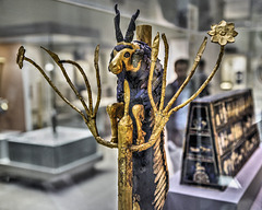 """Ram in a Thicket"" – British Museum, Bloomsbury, London, England"