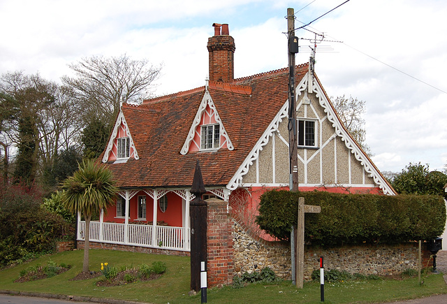 Former Lodge House to Easton Lodge Estate, Little Easton, Essex