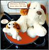 The dog gets mad in the pan... Da wird der Hund in der Pfanne verrückt... ©UdoSm