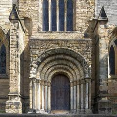 Dunfermline Abbey Entrance