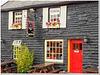 Irish Pub en rouge et noir