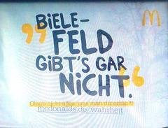 Die Bielefeldverschwörung