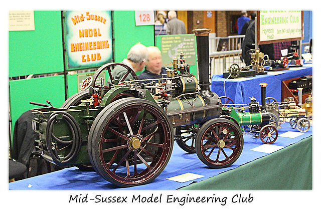 Brighton Modelworld 2016 Mid Sussex Model Engineering Club