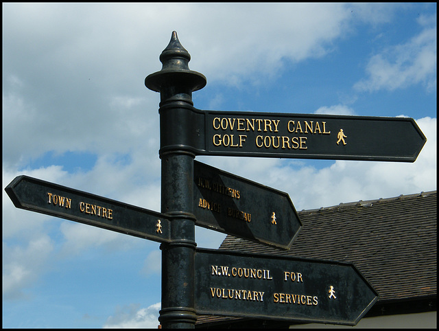 way to Coventry Canal