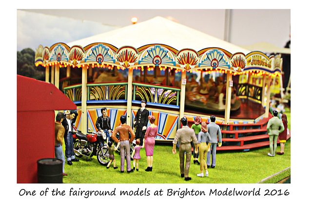Brighton Modelworld 2016 One of the fairground models