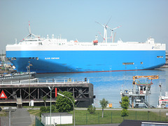 Autotransporter GLOVIS COMPANION in Bremerhaven
