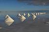 Bolivia, Salar de Uyuni, Cones of Salt