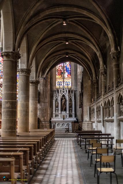 Église Saint-Martin de Metz - Bas-côtés sud