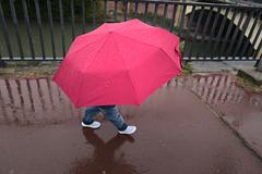 pluie à Toulouse