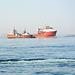 Namibia, Multi Purpose Offshore Vessel Lewek Teal in Walvis Bay