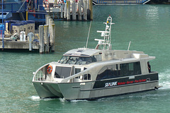 Sealink Clipper II at Auckland - 21 February 2015