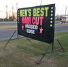 Hair cut sign