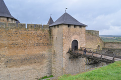 Хотинская крепость, Мост на входе в цитадель / The Fortress of Khotyn, The Bridge at the Entrance to the Citadel