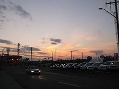 Nissan's sunset