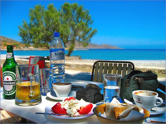 Crete. Tholos Beach. 200309 ... ♫ ♪ ♪ ♫