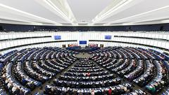 Parlement européen de Strasbourg : Hémicycle