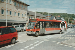 Veolia Cymru CN07 KZK in Aberystwyth - 27 Jul 2007