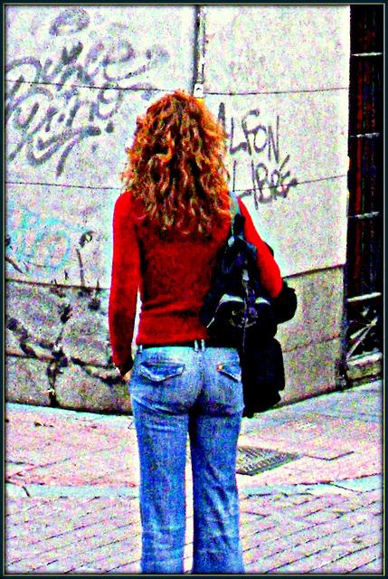 Graffiti and girlfriend