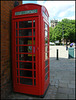 Atherstone phone box