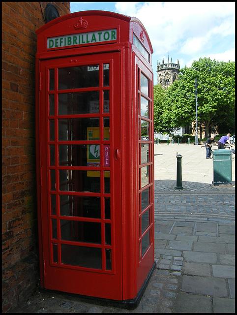 Atherstone phone box