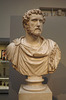 Marble Bust of Antoninus Pius in the British Museum, May 2014