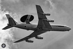 Boeing E-3A Airborne Warning & Control System (AWACS) aircraft
