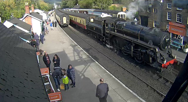 Webcam: Grosmont Station